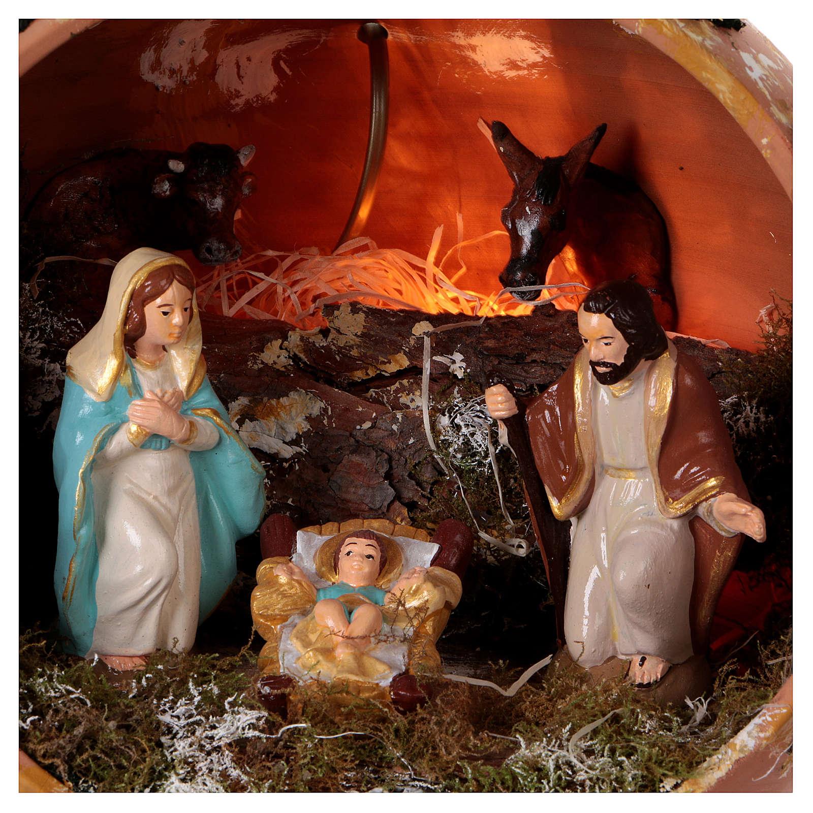 Bola de terracota Deruta Natividad 4