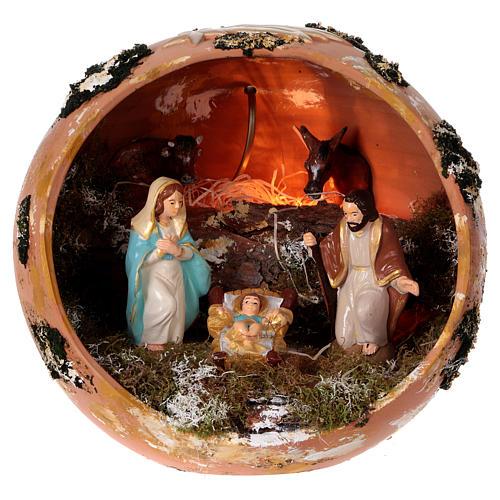 Bola de terracota Deruta Natividad 1