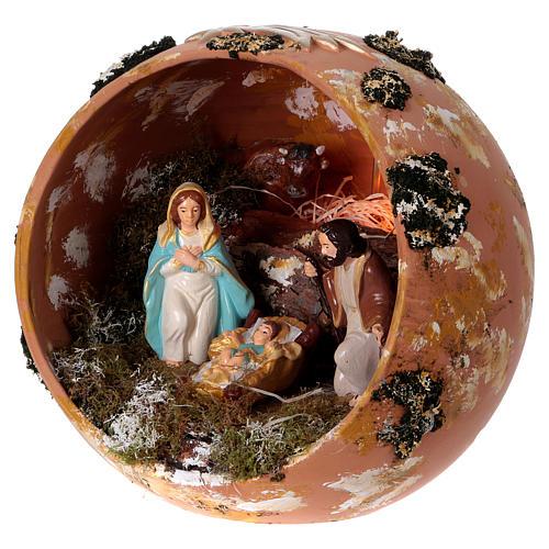 Bola de terracota Deruta Natividad 3