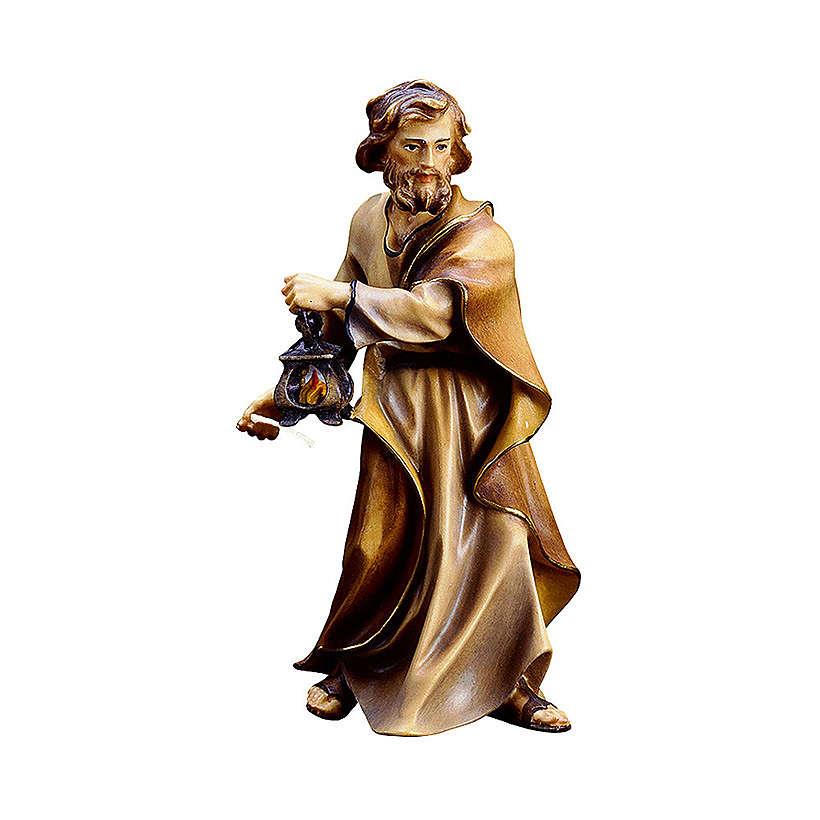 S. Giuseppe presepe Original legno dipinto in Valgardena 12 cm 4