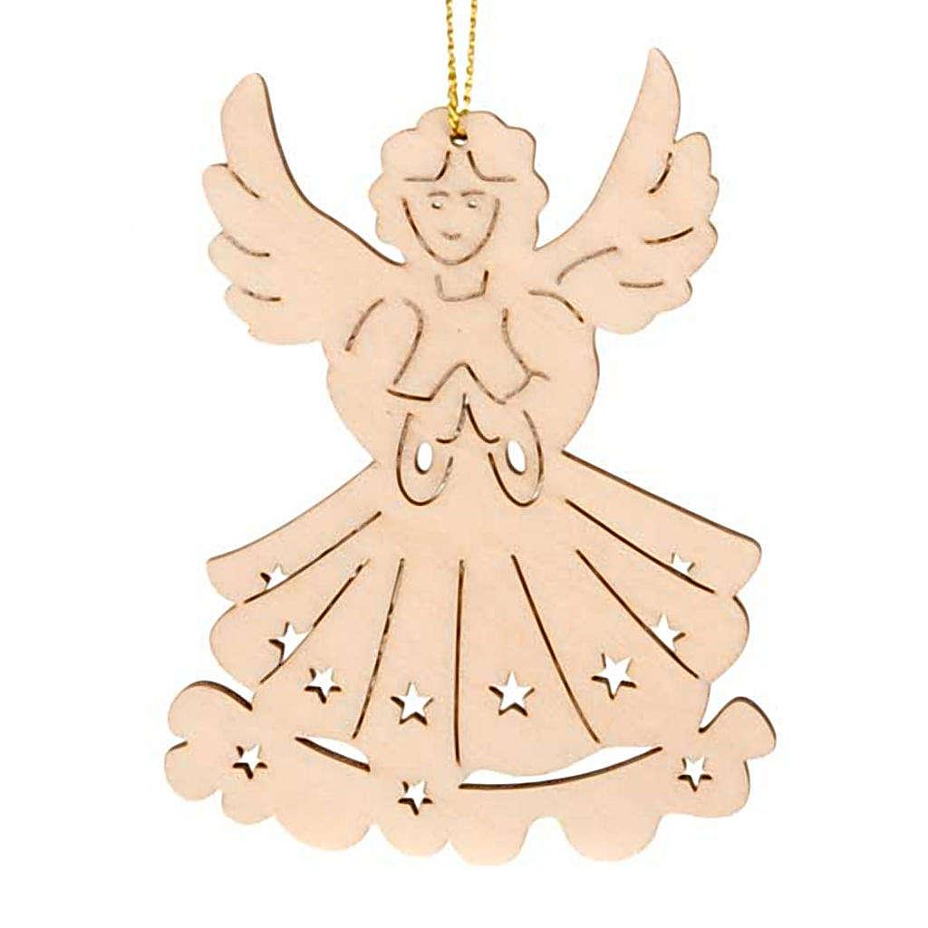 Adorno ángel colgable 4