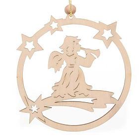 Adorno navidad anillo estrellas Ángel s1