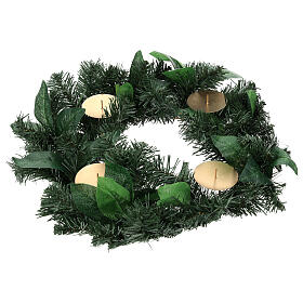 Advent garland with no decorations s1