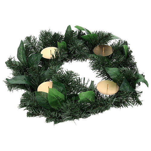 Advent garland with no decorations 1
