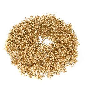 Anello candela Argento, Oro, Champagne decoro di Natale s2