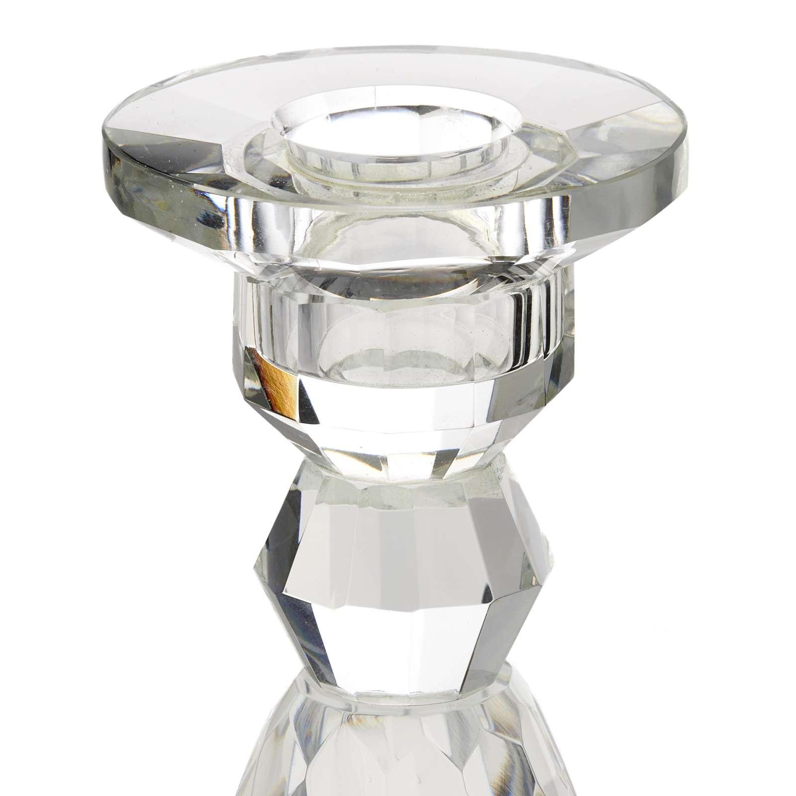 Portacandela cristallo 4