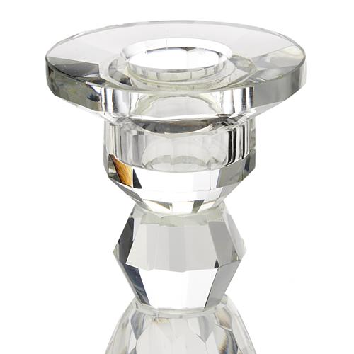 Portacandela cristallo 2