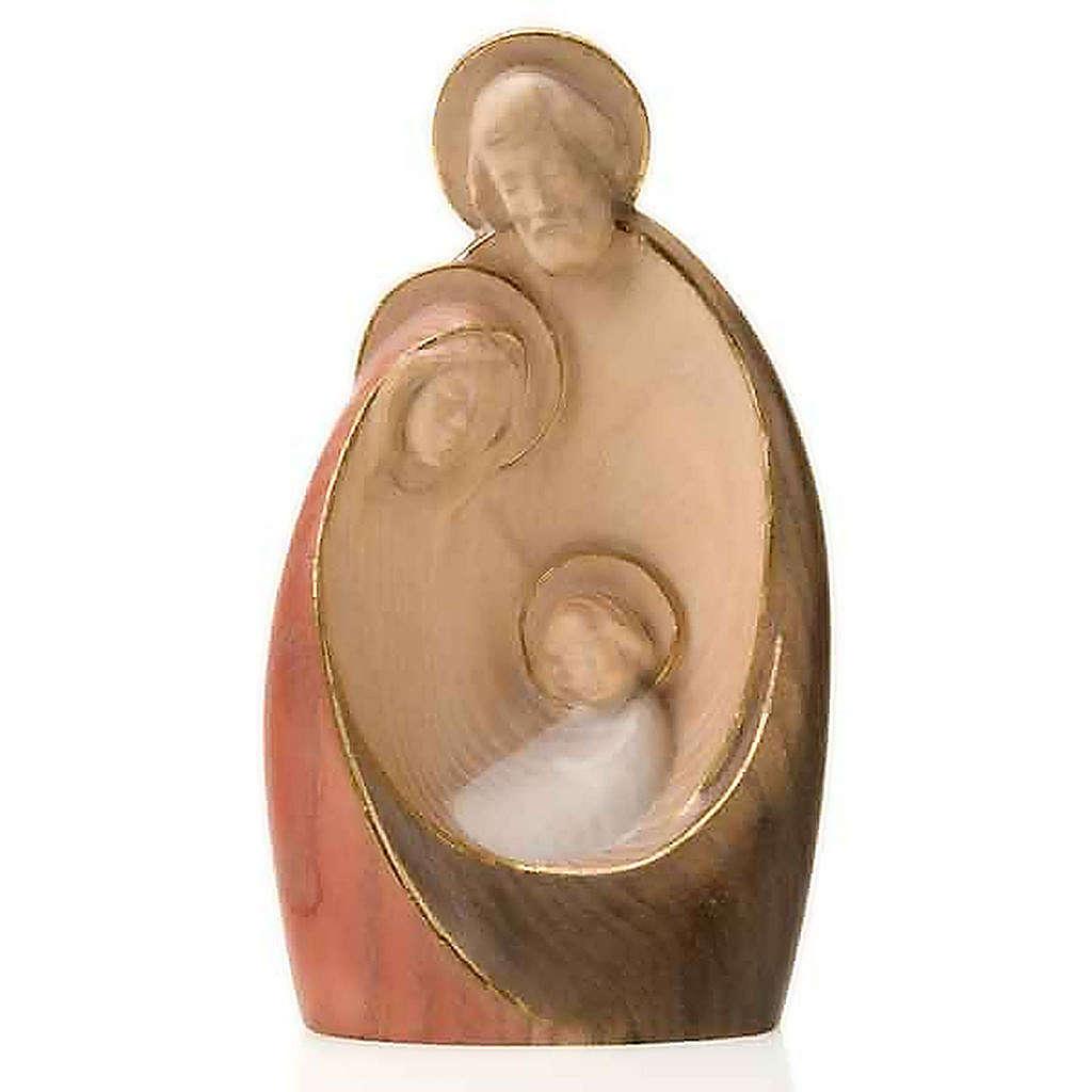 Nativité Bethléem, en bois coloré 4
