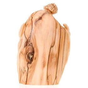 Natività legno olivo Betlemme cm 12,5 s2