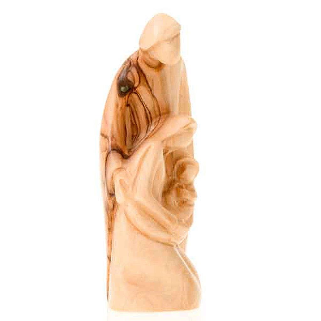 Natività legno Betlemme cm 13 3