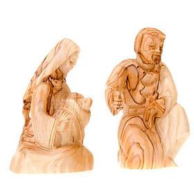 Natività legno Betlemme cm 12 s2