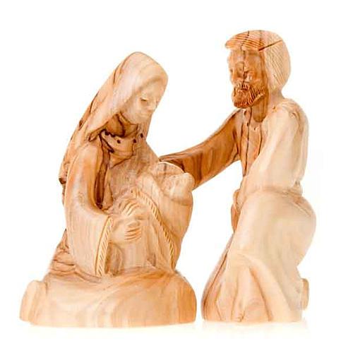 Natività legno Betlemme cm 12 1