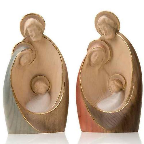 Wooden stylised nativity set, 20cm 1