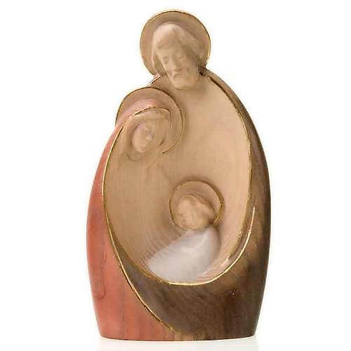 Wooden stylised nativity set, 20cm 2