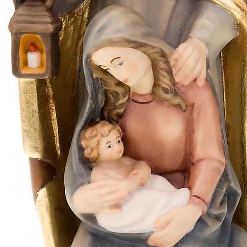Natividad de madera pintada a mano 4