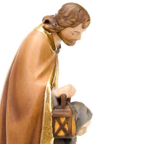 Hand-painted wood nativity 3