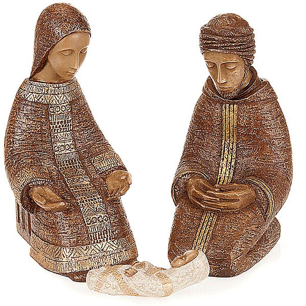 Rural Nativity in brown color 4