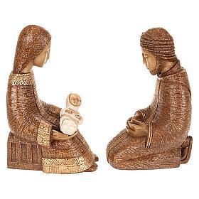 Nativité paysanne marron Bethléem s4