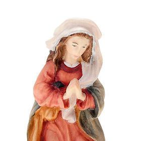 Natividad 11 cm. de madera pintada a mano s3