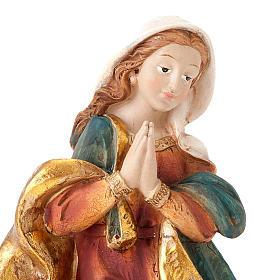 Nativité Sainte Famille colorée 28 cm s4