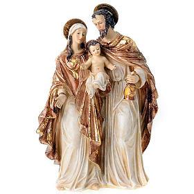 Nativity scene set gilded Holy Family 34 cm figurines s1