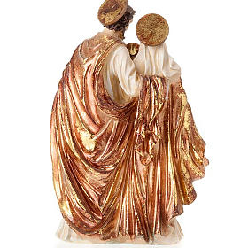 Sainte famille dorée 34 cm s3