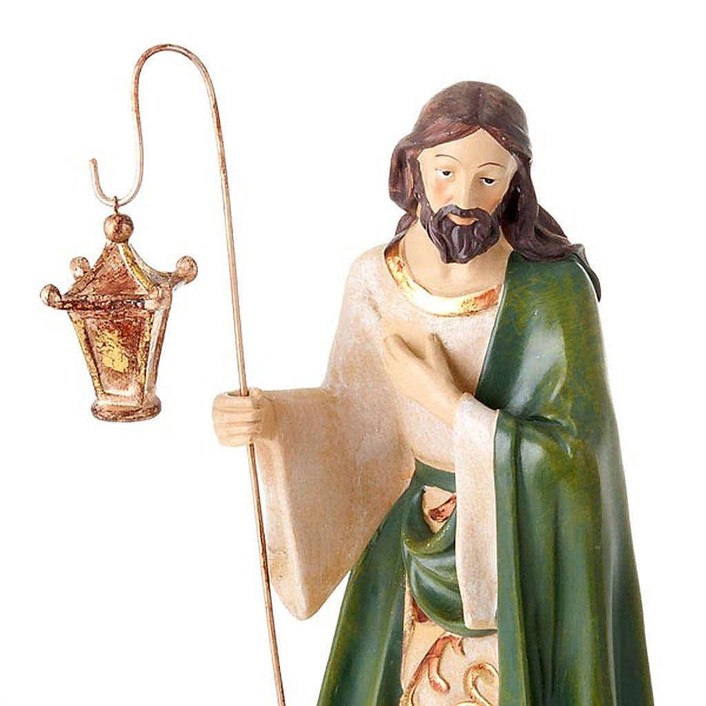 Nativité sainte famille 2 pièces 45 cm 4