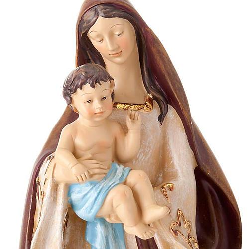 Nativité sainte famille 2 pièces 45 cm 3