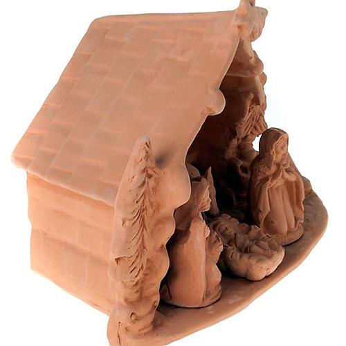 Presepe completo terracotta 10 cm 5