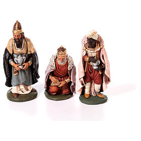 Nativity set complete with manger 25 figurines 18 cm s4