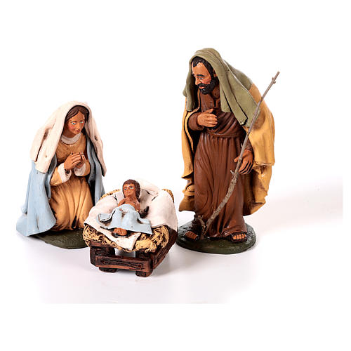 Nativity set complete with manger 25 figurines 18 cm 3