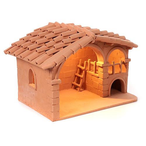 Nativity set complete with manger 25 figurines 18 cm 13