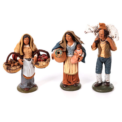 Nativity set complete with manger 25 figurines 18 cm 7