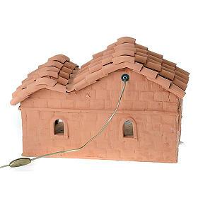 Nativity set accessory, manger in terracotta s2