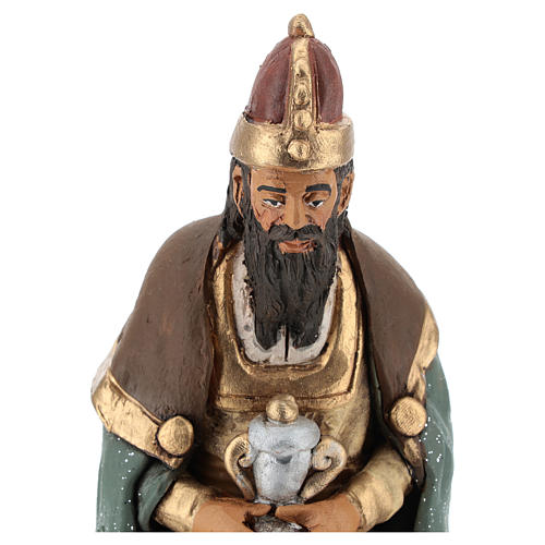 Nativity set accessories clay Three wise kings 18 cm 2