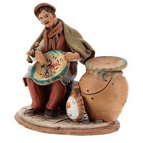 Nativity set accessory, terracotta craftsman figurine, 18cm s3