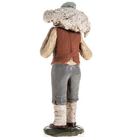 Pastore in terracotta presepe 18 cm s4