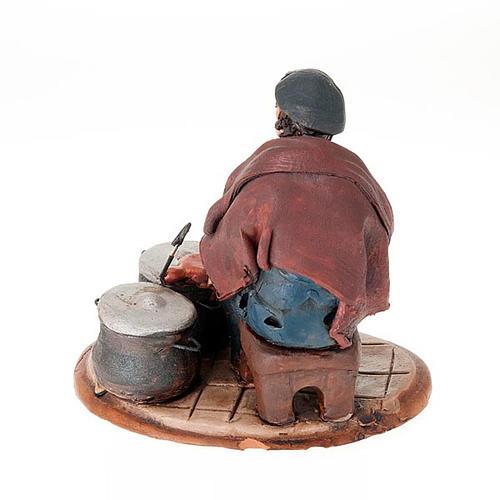 Nativity set accessory, Coppersmith clay figurine 2