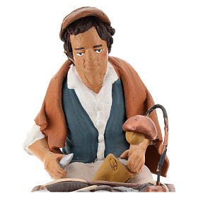 Nativity set accessory, Cobbler clay figurine 18cm s2