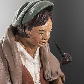 Nativity set accessory, Cobbler clay figurine 18cm s6