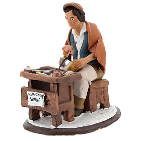 Nativity set accessory, Cobbler clay figurine 18cm s3