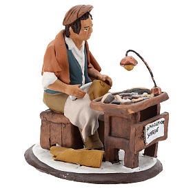 Nativity set accessory, Cobbler clay figurine 18cm s4