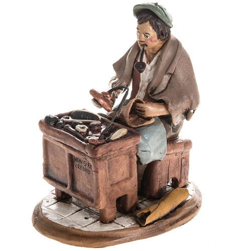 Nativity set accessory, Cobbler clay figurine 18cm 1