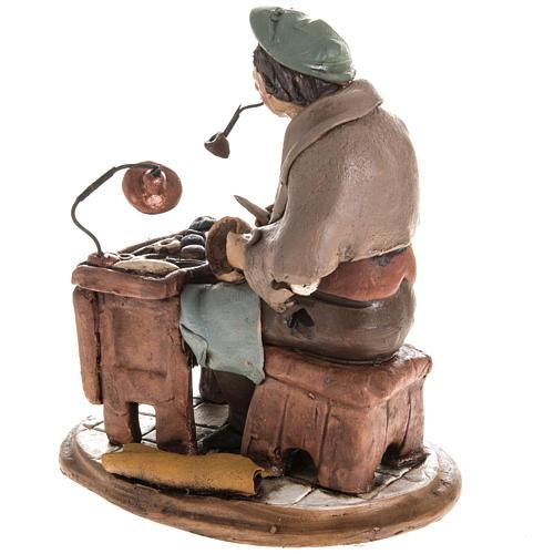 Nativity set accessory, Cobbler clay figurine 18cm 4