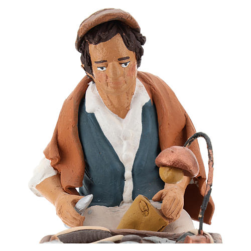 Nativity set accessory, Cobbler clay figurine 18cm 2