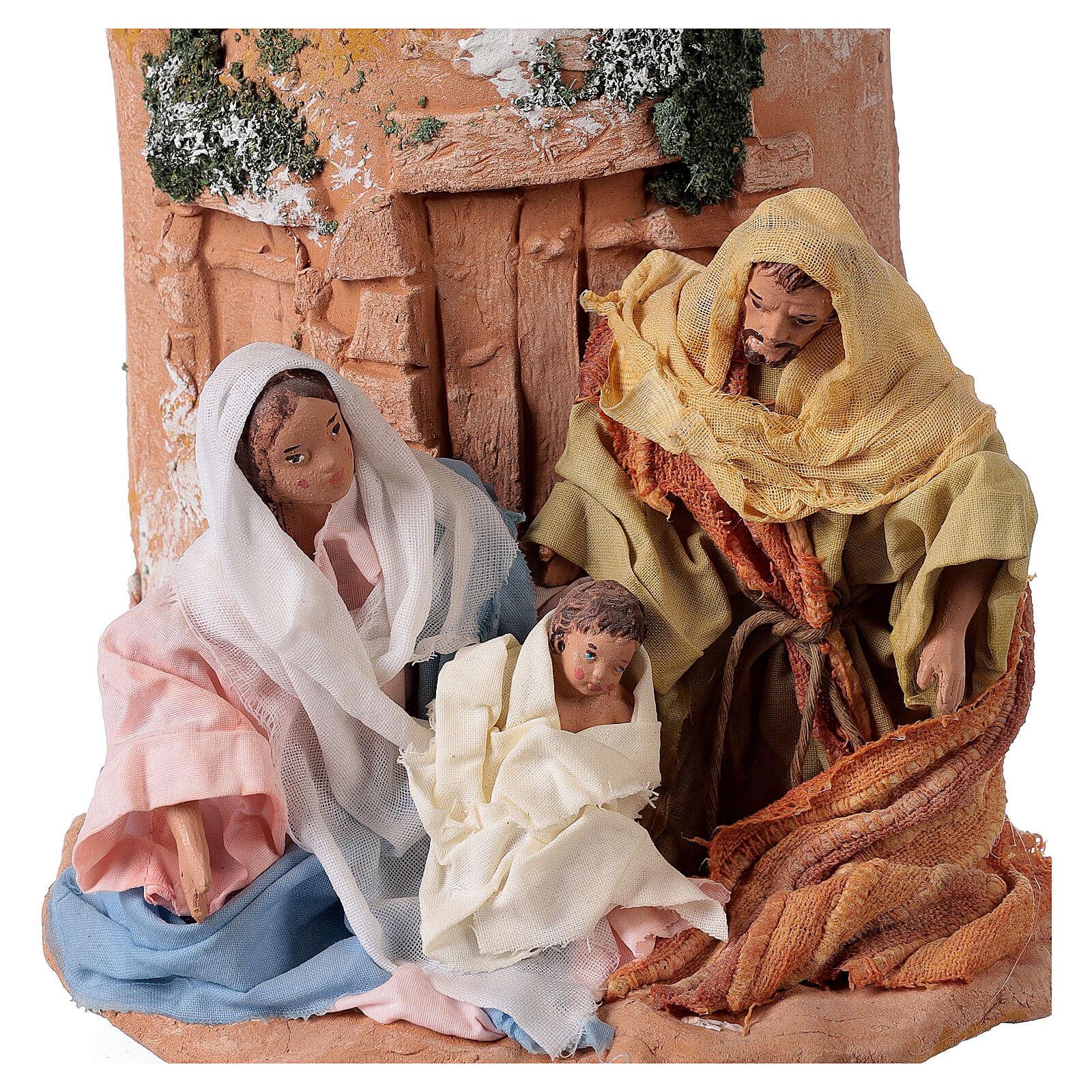 Teja terracota Natividad 4