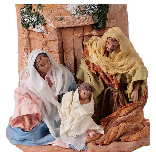 Teja terracota Natividad 2