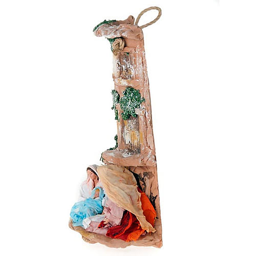 Nativity set clay hip-tile 2