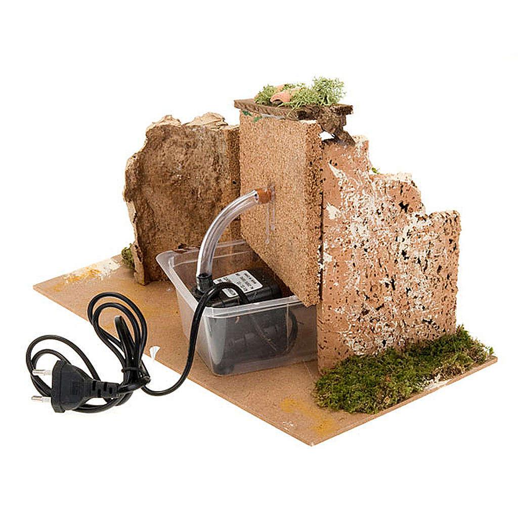 Fontana presepe con tettoia 6 watt 4