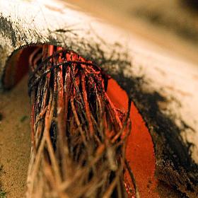 Forno presepe effetto fuoco con pentole e sacco 20X14X16 s2